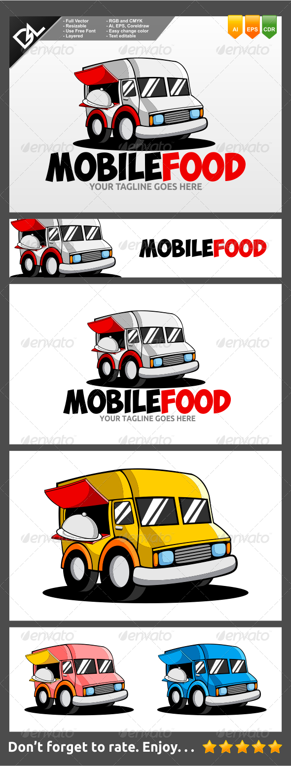 GraphicRiver Mobile Food 7742478