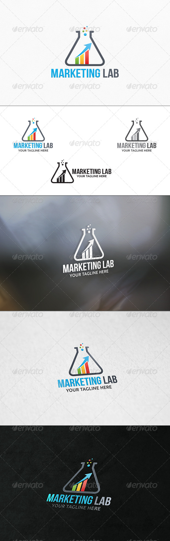 GraphicRiver Marketing Lab Logo Template 7742730
