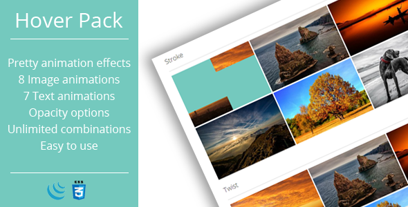 Hover Effects Pack - CodeCanyon Item for Sale