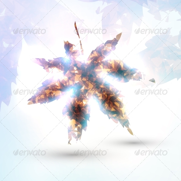 GraphicRiver Abstract Autumn Leaf 7742936