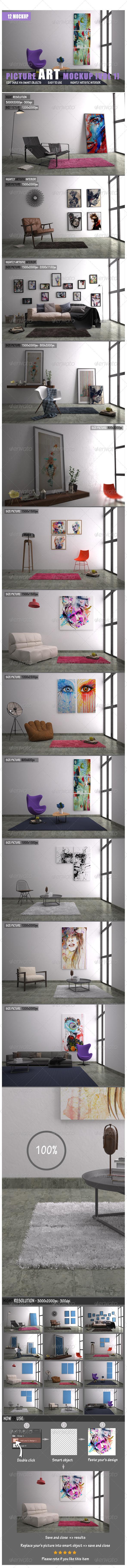 GraphicRiver Picture Art Mockup [Vol 1] 7729916