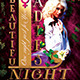 Beautiful Ladies Night Flyer Template - GraphicRiver Item for Sale