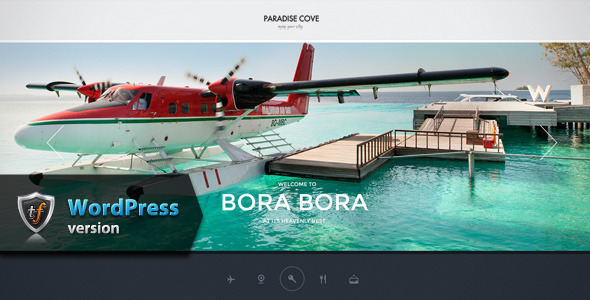 Paradise Cove - Hotel WordPress Theme - Travel Retail