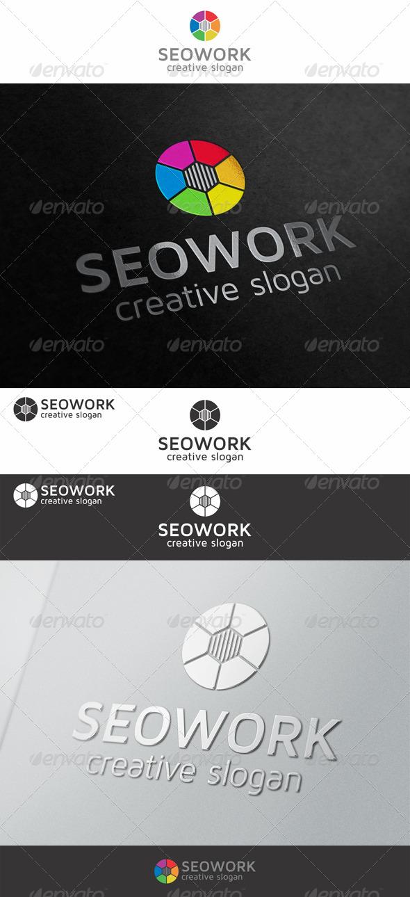 GraphicRiver SEO Work Logo 7743344