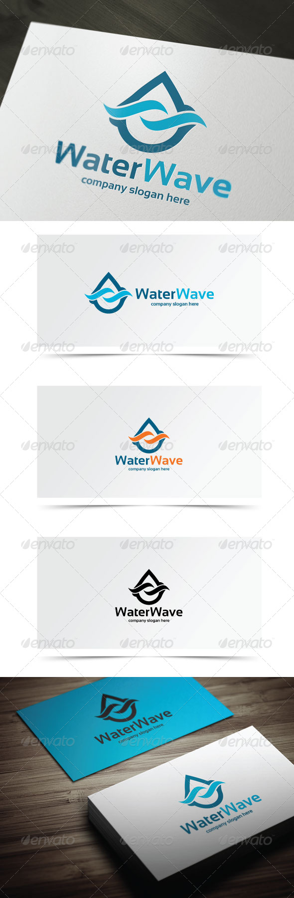 GraphicRiver Water Wave 7743374