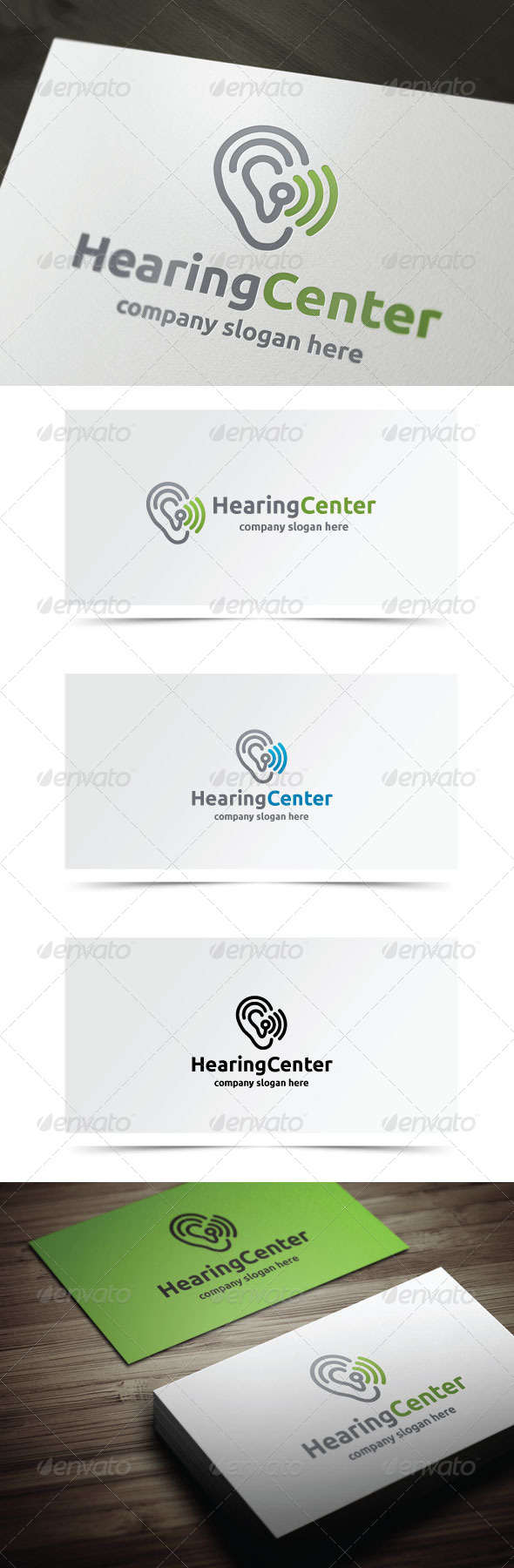 GraphicRiver Hearing Center 7743403