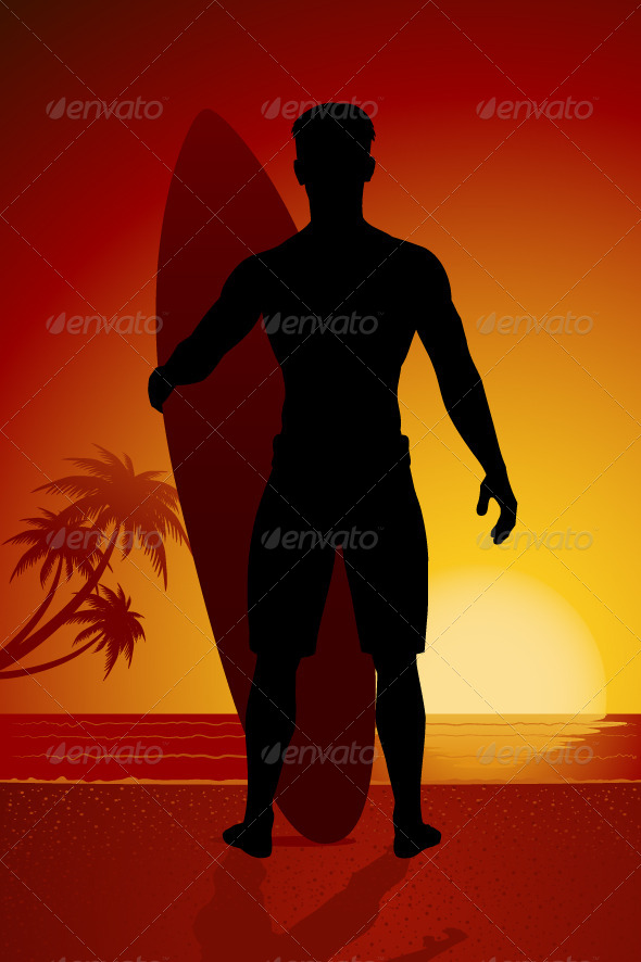GraphicRiver Surfer 7743443