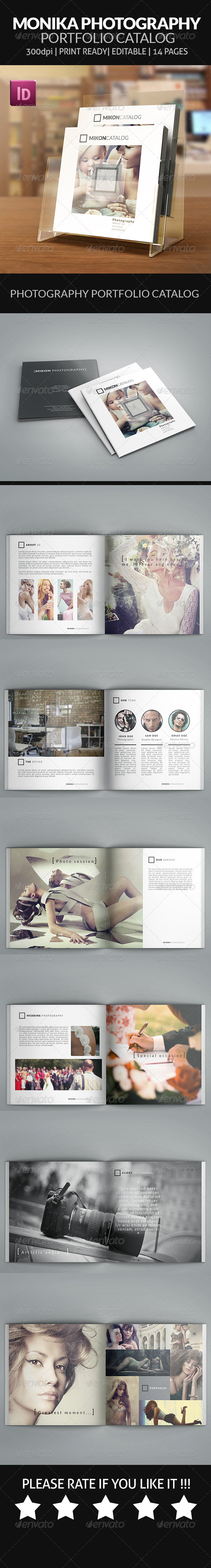GraphicRiver Mikon Photography Portfolio Square Catalog 7721236