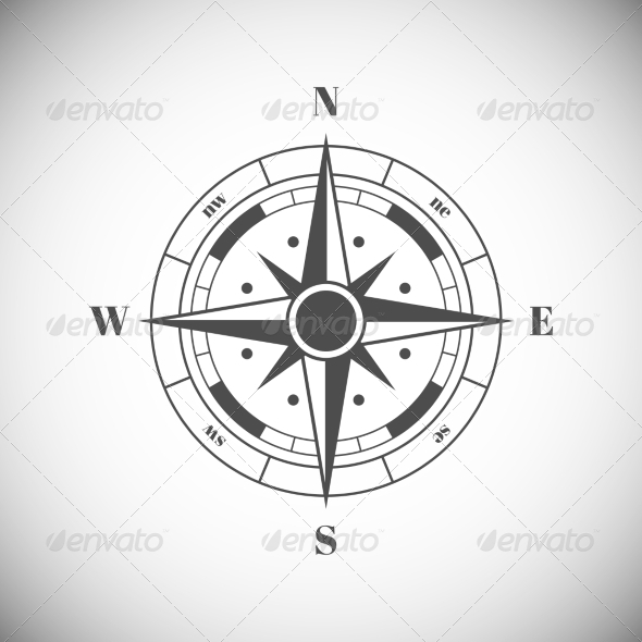 GraphicRiver Wind Rose 7745431