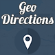 GeoDirections - Useful Geolocated Directions Map