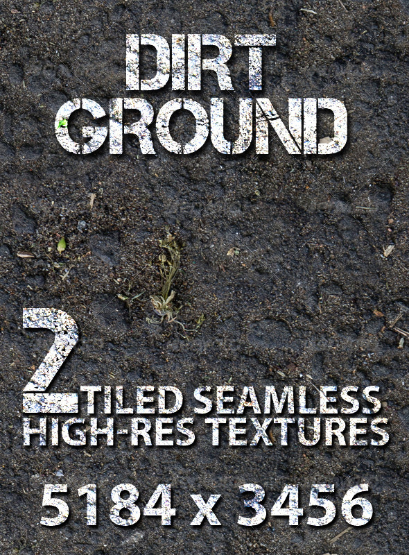 GraphicRiver Dirt Ground Tiled Texture 7745926