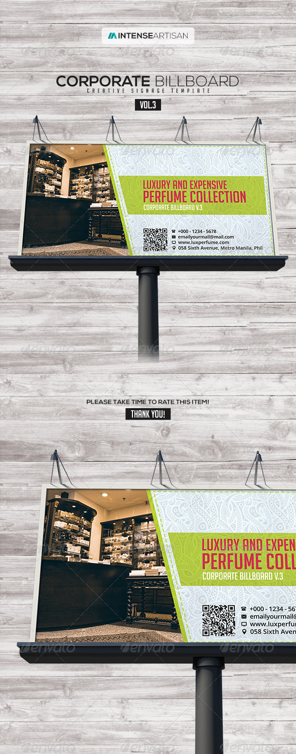 GraphicRiver Billboard Template Signage Vol.3 7745945