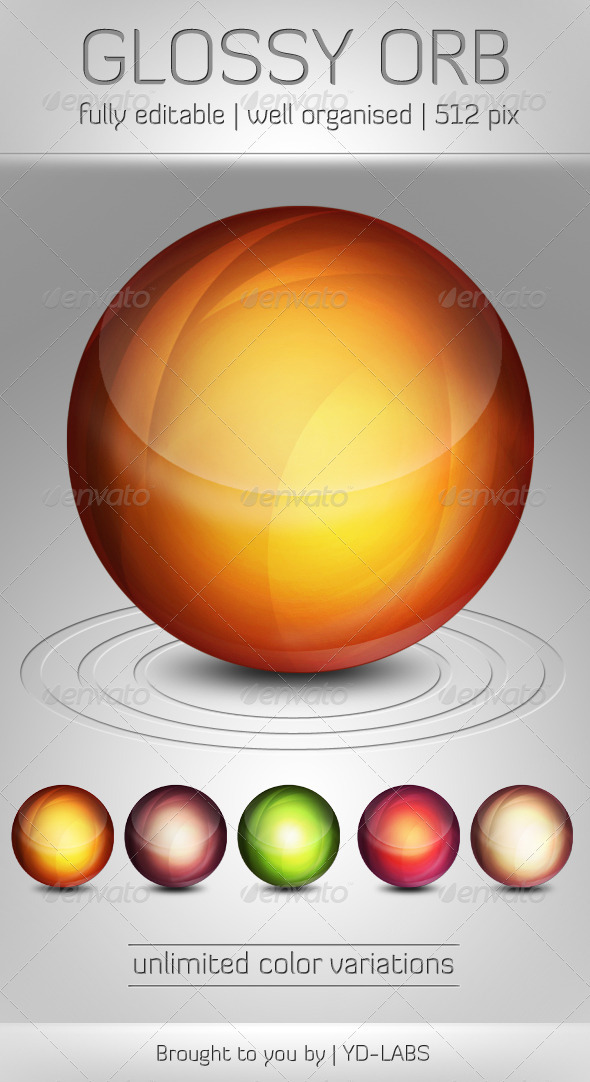 GraphicRiver Glossy Orb 791515