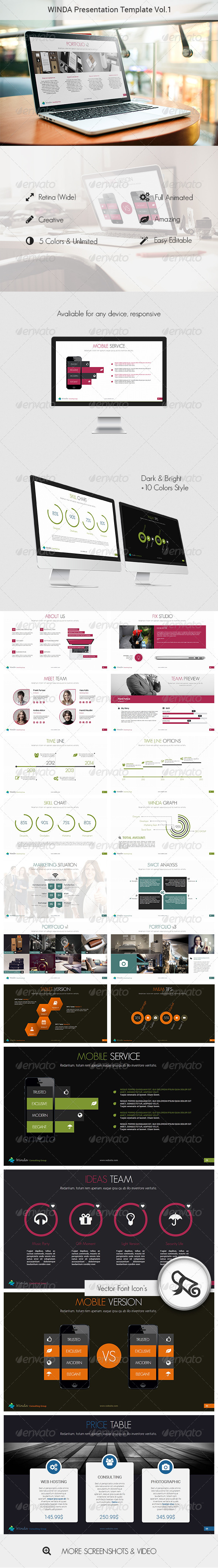 GraphicRiver Winda Creative Powerpoint Template 7730231