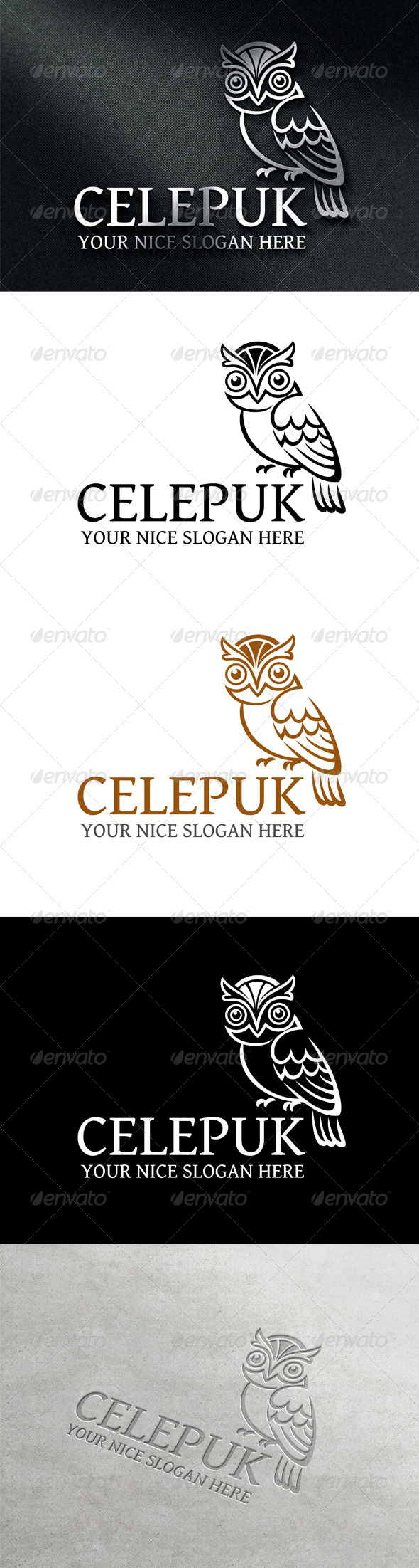 GraphicRiver Celepuk Logo Template 7746403