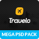 Travelo - Mega PSD Pack - ThemeForest Item for Sale