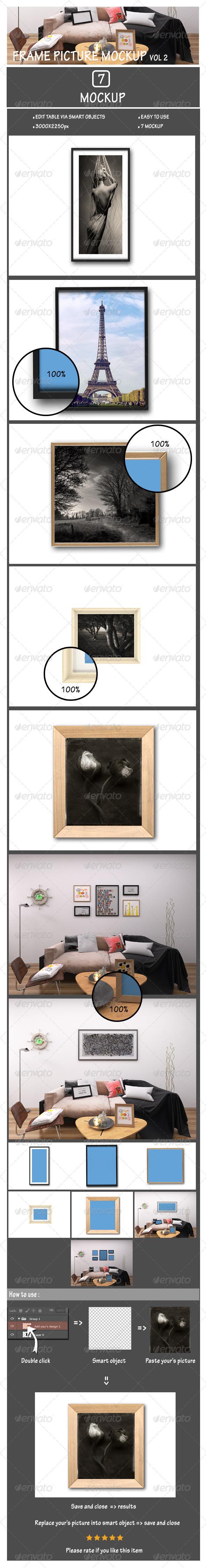 Frame Picture Mockup Vol2