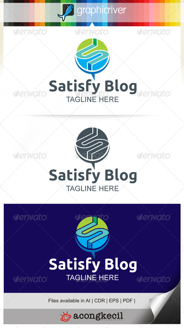 GraphicRiver Satisfy Blog 7747126
