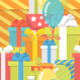 Birthday Pattern with Gifts - GraphicRiver Item for Sale