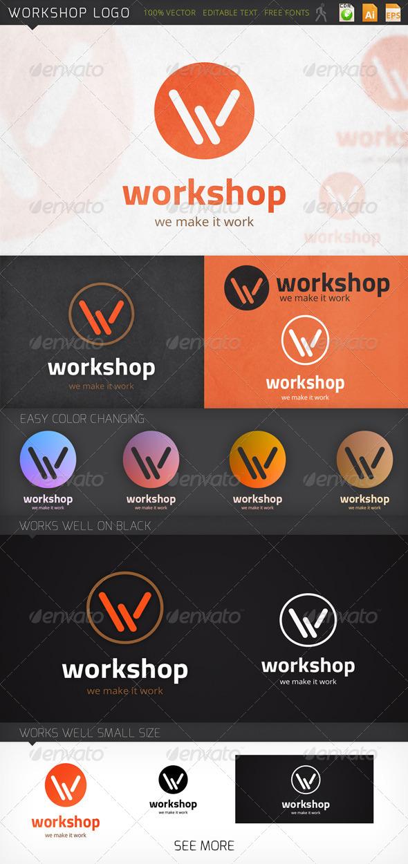 GraphicRiver Workshop Logo 7747554