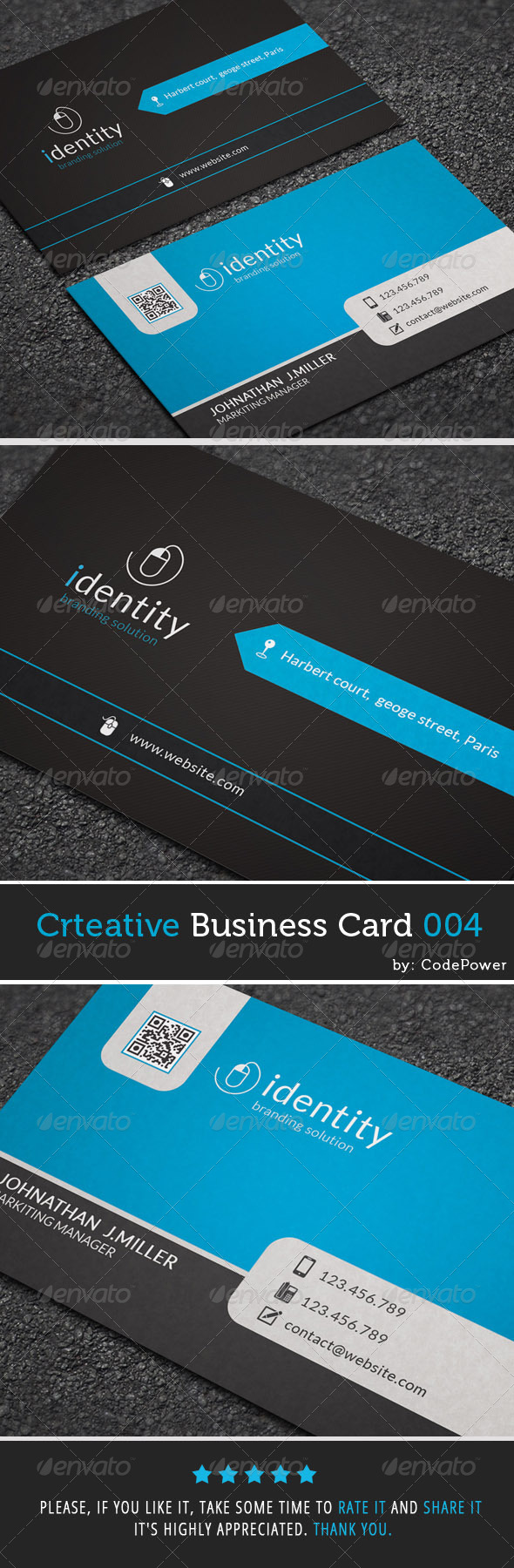 GraphicRiver Creative Business Card 004 7747704