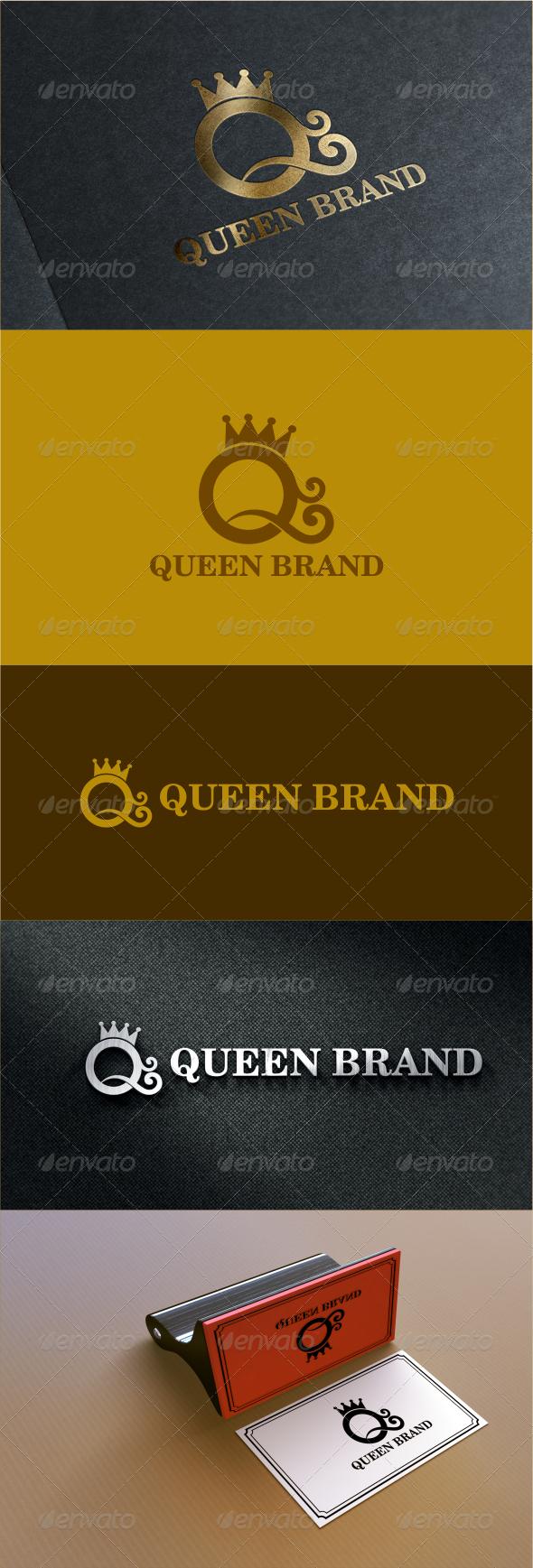 GraphicRiver Royal Queen Logo Template 7702968