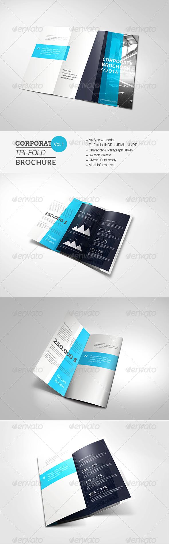 GraphicRiver Corporate Tri-fold Brochure 7748186