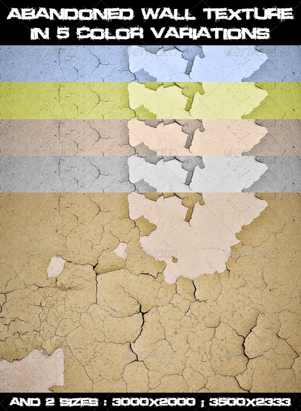 GraphicRiver Abandoned Wall Texture 7748432