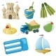 Beach Toys - GraphicRiver Item for Sale