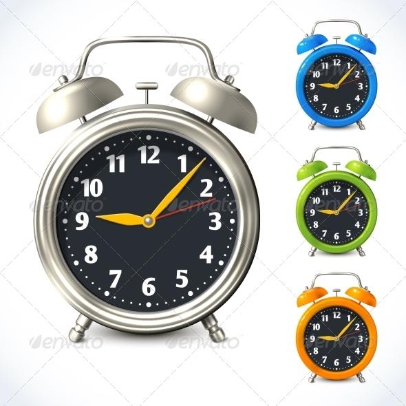 GraphicRiver Alarm Clocks 7748956