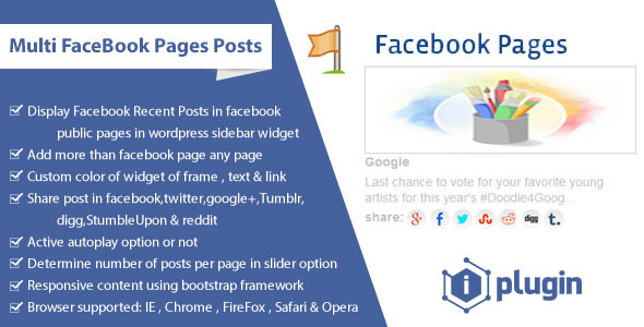 CodeCanyon Multi FaceBook Pages Posts 7742753