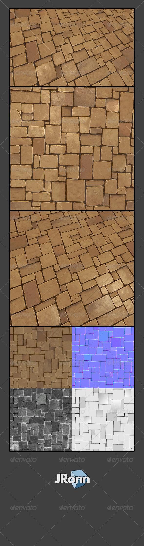 3DOcean Stone Floor 02 7750024