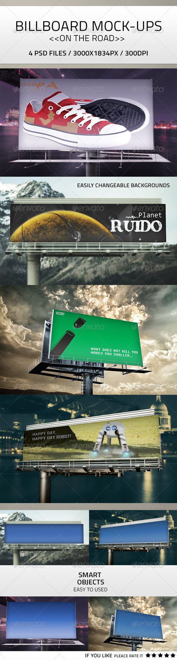 GraphicRiver Billboard Mock-Up PSD 7750107