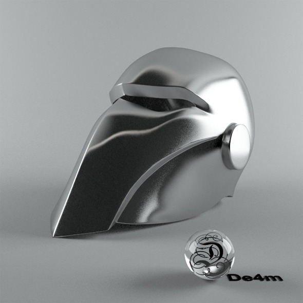 3DOcean Smooth Helmet 7750170