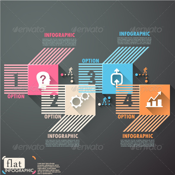 GraphicRiver Flat Infographic Options Template 7750467