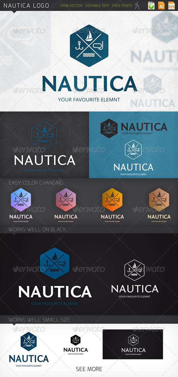 GraphicRiver Nautica Logo 7750708