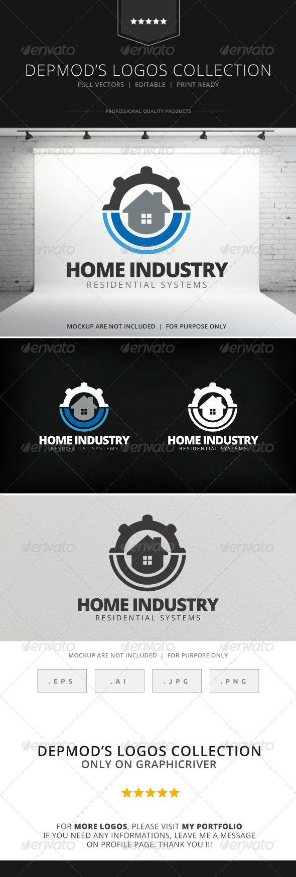 GraphicRiver Home Industry Logo 7750732