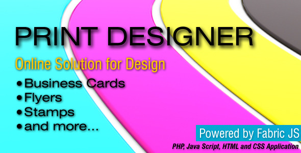 JS Print Designer