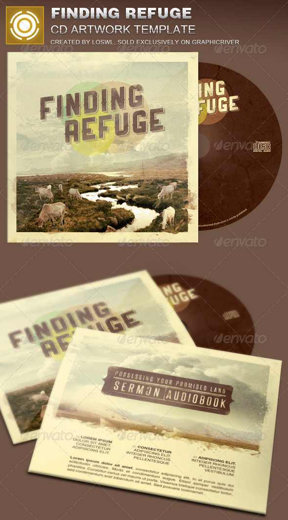 GraphicRiver Finding Refuge CD Artwork Template 7750859