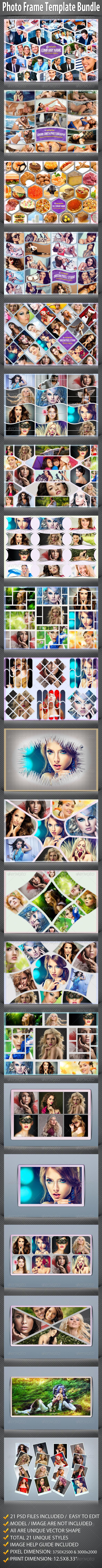 GraphicRiver Photo Frame Templates Bundle 7751267