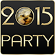 2015 New Year Party Flyers. 5 Different Styles. - GraphicRiver Item for Sale
