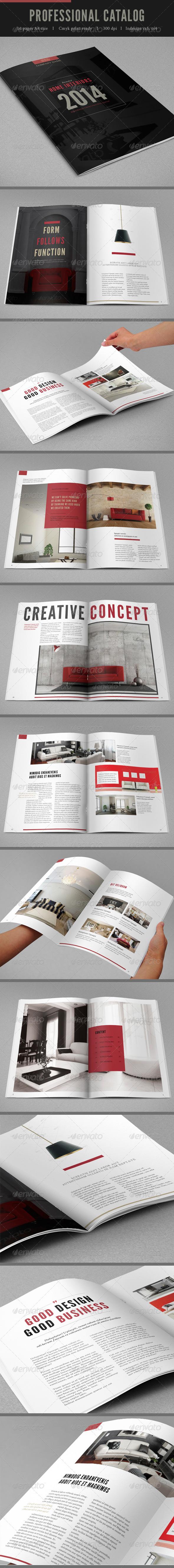 GraphicRiver Professional Brochure Catalog vol II 7751382