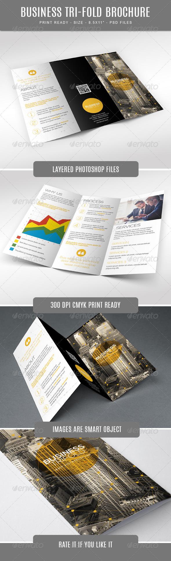 GraphicRiver Business Tri-Fold Brochure 7751723