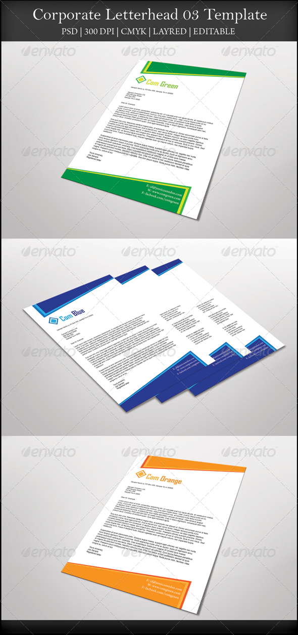 GraphicRiver Corporate Letterhead 03 7751754