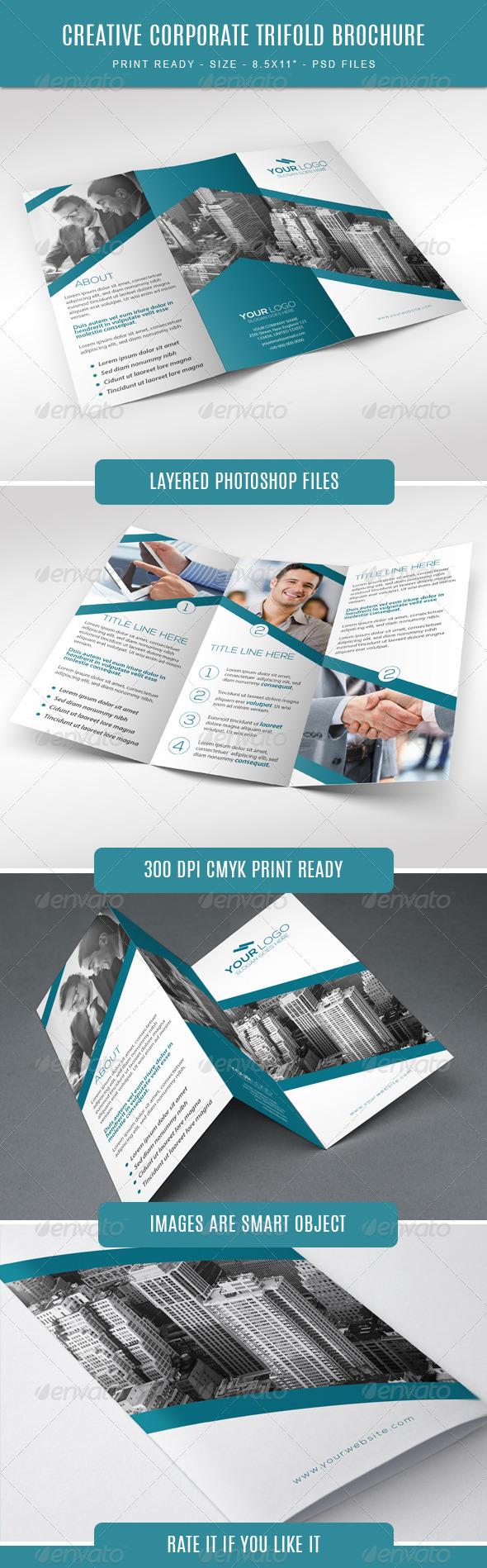 GraphicRiver Corporate Tri-Fold Brochure 7751791