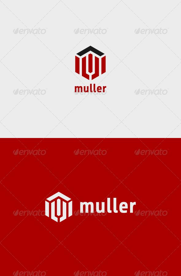 GraphicRiver Muller Logo 7751793