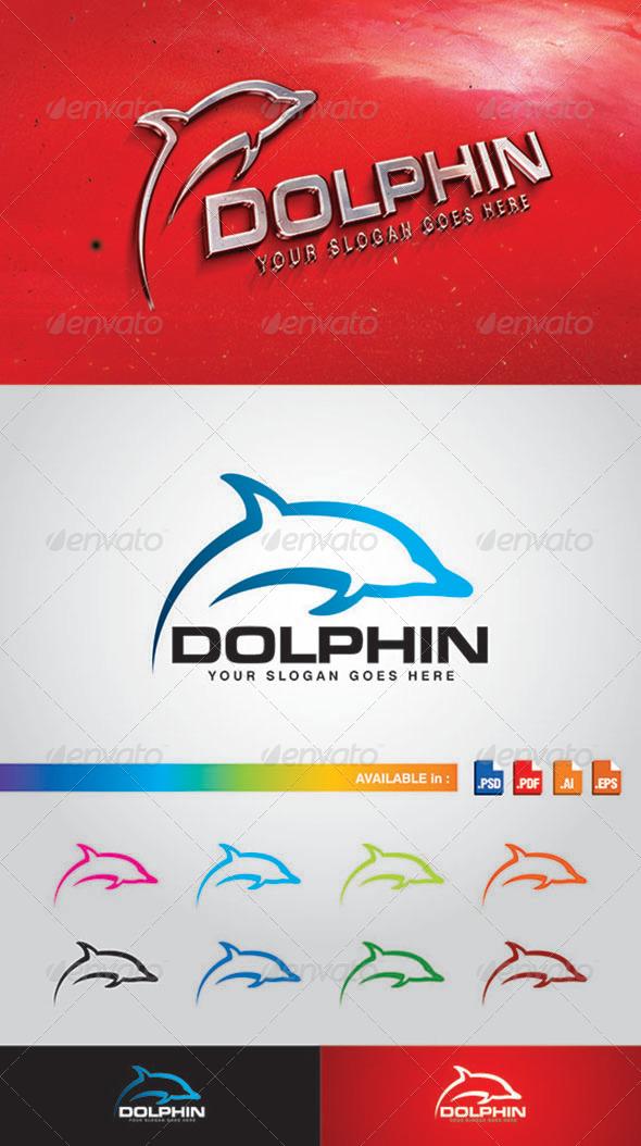 GraphicRiver Dolphin Logo 7751896