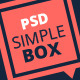 Simple Box - One Page Multi-Purpose Psd Theme - ThemeForest Item for Sale