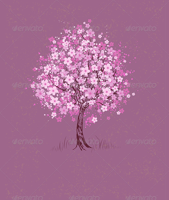 GraphicRiver Cherry on Pink Background 7752248