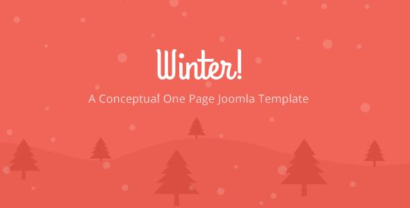 Winter - Responsive Joomla Template